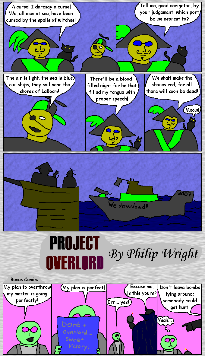 Pirates of the Comic