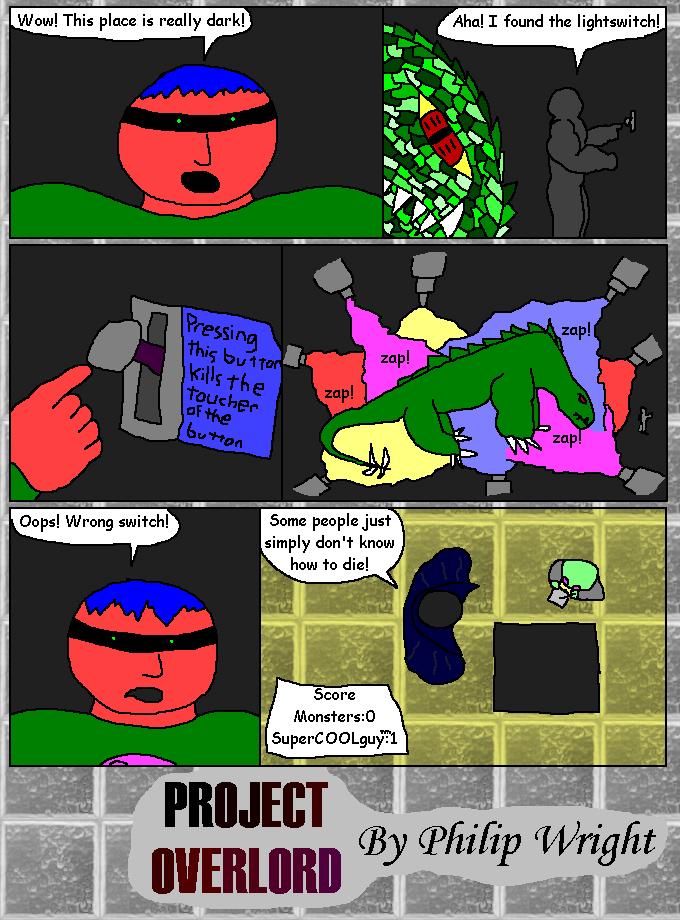 SuperCOOLguy Versus Dungeon Monster